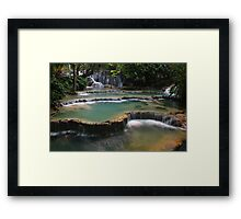 Waterfall Cascades Framed Print