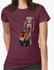 Don't Lose Your Head Womens Fitted T-Shirt