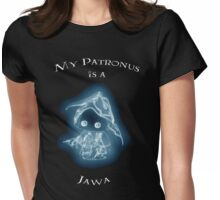 My Patronus is a Jawa Womens Fitted T-Shirt