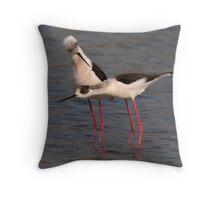 Courtship Behaviour Throw Pillow