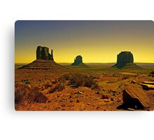 Valley of The Navajo Canvas Print