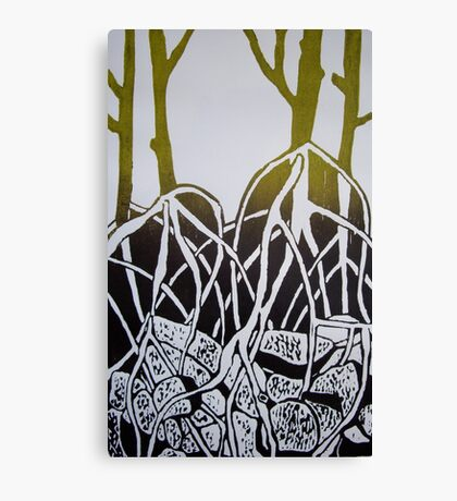 Mangroves - series one Canvas Print