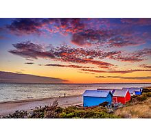 Edithvale Beach - Melbourne Victoria Photographic Print