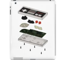 NES: Just the Guts in Color iPad Case/Skin