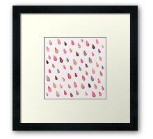 Opal Drops - Dawn Colorway Framed Print