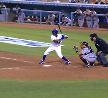 Dodgers Vs. Giants by ricksphotos