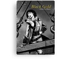 Black Gold - Variant Cover Canvas Print