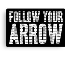 Same Trailer Different Park: Follow Your Arrow [Song Title] Canvas Print