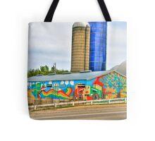 Rural Folk Art Tote Bag