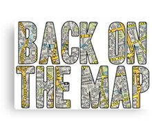 Same Trailer Different Park: Back On The Map [Song Title] Canvas Print