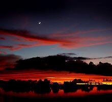 Under A Crescent Moon by Varinia   - Globalphotos