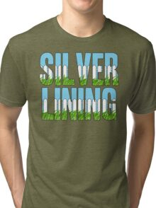 Same Trailer Different Park: Silver Lining [Song Title] Tri-blend T-Shirt
