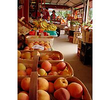 Fresh Georgia Peaches Aroma Photographic Print