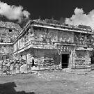 Nunnery Annex at Chichén Itzá by Zane Paxton
