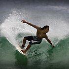 Surfer by Simon Cross