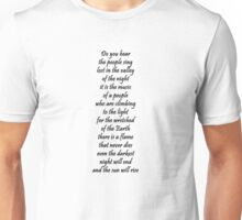 Do you hear the people sing Unisex T-Shirt