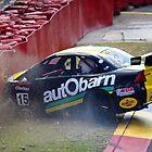 Aussie Car Crash by Simon Cross