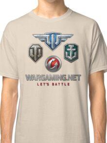 Wargaming MMO Logos Classic T-Shirt