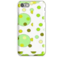Lime Bubbles And Green Olives iPhone Case/Skin