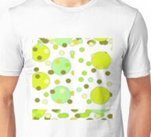 Lime Bubbles And Green Olives Unisex T-Shirt
