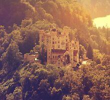 Austrian Castle by Paula Bielnicka