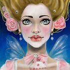 Marie Antoinette Let them eat cupcake in pink by KimTurner