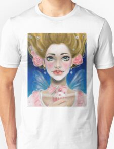 Marie Antoinette Let them eat cupcake in pink T-Shirt