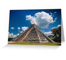 The Pyramid of Kukulkán or El Castillo  Greeting Card