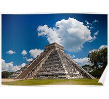The Pyramid of Kukulkán or El Castillo  Poster