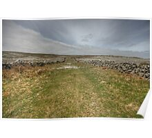 Old Burren Road Poster