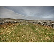 Old Burren Road Photographic Print