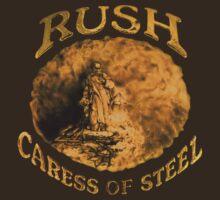 Rush Caress of Steel Tee by skylab76