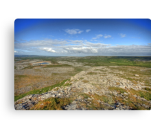 Mullaghmore morning view Canvas Print