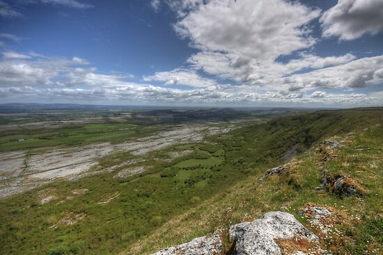 Slieve Carran View by John Quinn