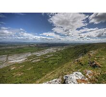 Slieve Carran View Photographic Print