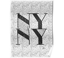 New York , New York, Deco Swing Poster