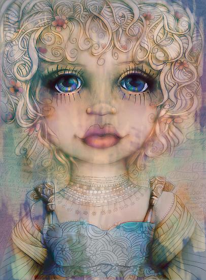 Peachy by © Karin Taylor