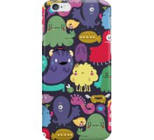 Colorful Creatures iPhone Case/Skin