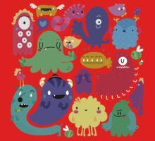 Colorful Creatures Kids Clothes