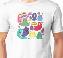 Colorful Creatures Unisex T-Shirt