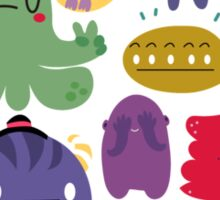 Colorful Creatures Sticker