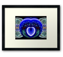 You Have Breached the Wall Surrounding My Heart Framed Print