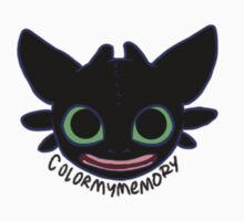 Toothless - gummy by ColorMyMemory