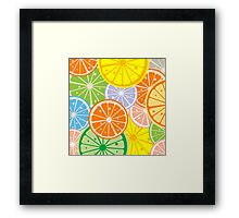 Citric Framed Print