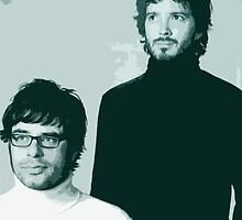 Flight of the Conchords- Family Portrait by catofnimes