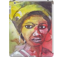 A Black Woman - nothing else iPad Case/Skin