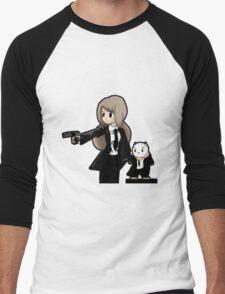 PuppyCat Fiction Men's Baseball ¾ T-Shirt