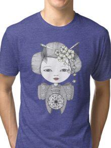 Little Blossom Girl Tri-blend T-Shirt