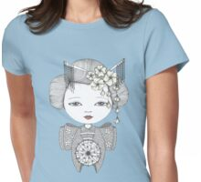 Little Blossom Girl Womens Fitted T-Shirt