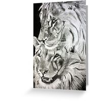 Brothers - Graphite Pencil Greeting Card